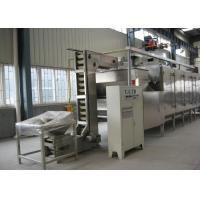 China Soybean Cashew Nut Roasting Machine , Continuous Peanut Drying Equipment wholesale