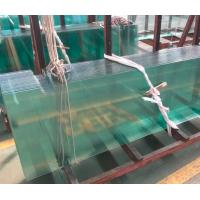 China White Toughened Glass For Doors / Thermal Toughened Glass Wall Panels wholesale