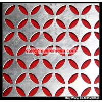 China interior perforated wall paneling/acoustic perforated metal wall panel on sale