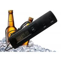 China Time Display Cold Chain Refrigerator Freezer Thermometer With Indoor Outdoor Sensors wholesale
