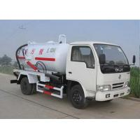 China Septic Pump Truck Transport The Feces / Sludge / Screes , XZJ5120GXW Sewage Pump Truck wholesale