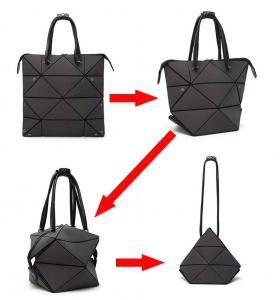 China WHOlSALES--Geometric Bags and Purses For Women, Luminous Flash Shard Lattice Fashion Totes Shoulder Handbags wholesale