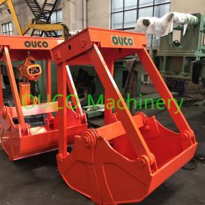 China Portable Design Clamshell Grab Bucket Electric Hoist Grab For Bulk Cargo wholesale