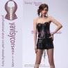 China popular corset with skirt black sex photos women corsets wholesale