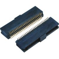 China Double Low 44-60 Pins , 10 Pin Header SMT Female Pin Headers With Cap  LCP Plastic wholesale