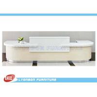 China White MDF Wood Reception Desk  wholesale