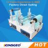 China máquina quente da colagem do derretimento 220v, controle de programa quente do Coater do rolo do derretimento wholesale