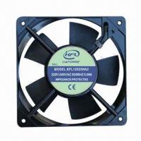 China AC Cooling Fan, Dual-voltage, Measures 120 x 120 x 25mm, Low Noise, High Air Flow on sale