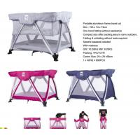 China Portable aluminum frame travle cot  998 wholesale