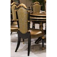 China The new classic wood leather dining chairs hotel luxury leisure dining chair TV-029 on sale