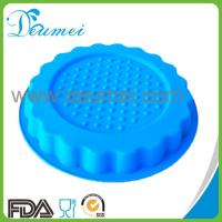 China Newest Design Round Shaped Silicone Pizza Cake Mold/Cake Pan on sale