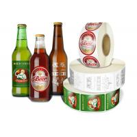 China Any Shaped Self Adhesive Removable Beer Bottle Labels Printing Customized wholesale