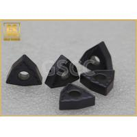 China Lathe Carbide Milling Inserts / Accuracy Round Carbide Cutter Inserts wholesale