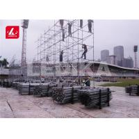 China Best Selling Customized Layer Truss Heavy Duty DJ Speaker Stand 520x1000 MM wholesale