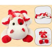 Buy cheap Promotion Gifts Lovely Red Cow Shape Custom Small Stuffed Animals For Children from wholesalers