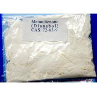 China Metandienone Natural Androgenic Anabolic Steroid Oral Powder Dianabol CAS 72-63-9 on sale