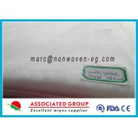China Non Woven Medical Fabric Wipes , Sanitary Pad Non Woven Wipes on sale