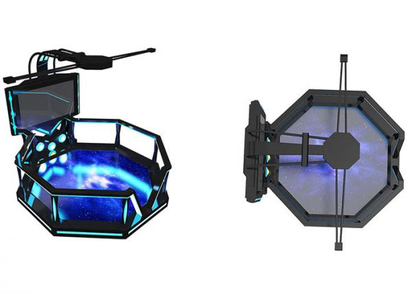 Quality 360 VR Battle Virtual Reality Game Simulator VR Standing Platform For Adults for sale