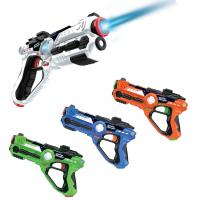 China Laser Gun Set For Kids And Adults, Infrared Laser Tag Game For Boys & Girls (2 Blasters Included), Cool Blaster Sounds W on sale