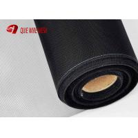 China Dust Proof Safety Window Screen Transparent Black Powder Stainless Steel wholesale