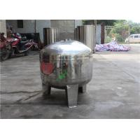China Small 1000L Capacity RO Water Storage Tank Stainless Steel Water Tank wholesale