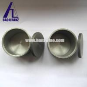 China 99.95% high purity tungten crucible melting pot crucible for high temperature furnace wholesale