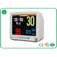 China High Resolution Patient Monitoring Equipment 6 Parameters With 12.1 Inch TFT LED Display wholesale