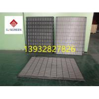 China Replacement Rock Shaker Screen Vibration Screen Mesh Swaco Mongoose Shale Shaker Screen Size 585*1165mm wholesale