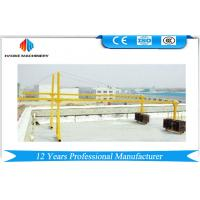 China ZLP Series Painted / Aluminum Suspended Scaffolding Platform Lifting Speed 8 ~ 10 m/min wholesale