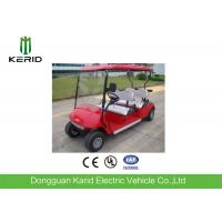 China Red Color Model 4 Wheel Drive Electric Golf Carts For Sports And Entertainment on sale