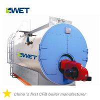 China WNS 10t/h oil gas fired fire tube industrial steam boilers for Chemical industry on sale