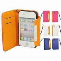 China Case for iPhone(Leather material available), Various Colors are Available wholesale