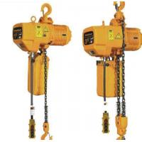China 3 Ton 8m Hook Electric Chain Hoists 50Hz 380V 3P For Heavy Duty Industry wholesale