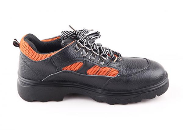 Quality Mining Workers / Athletic Steel Toe Work Shoes Second Layer Smashing Resistant for sale
