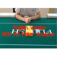 China English Verson AKK K5 Poker Cards Analyzer for Reporting Poker Results  in Advance wholesale