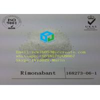 China 99% Purity Rimonabant Pharmaceutical Raw Material Weight Loss Steroids CAS 168273-06-1 wholesale