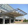 China Architectural Exterior Aluminum / Aluminium Sun Shades 8 - 10 Years Warranty wholesale