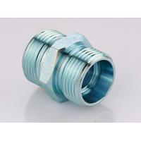China Metric Straight Thread Fittings , Male Bsp Threaded Pipe Fittings 1CB / 1DB wholesale