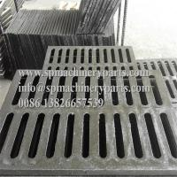"China OEM custom new deign product 19-1/2"" L x 11-3/4"" W x 3/4"" H cast iron heavy traffic channel drains grate wholesale"