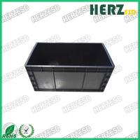China Anti Static ESD Safe Bins , ESD Storage Containers Cover Size 600*400mm Available on sale