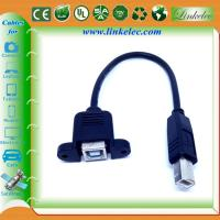 China cabo do usb 2,0 da montagem do painel wholesale