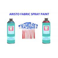 Non toxic UV Resistance Fabric Spray Paint for Clothes , Waterproof Liquid Paint Spray