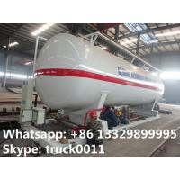 China best price 90,000L skid lpg gas plant with electronic scale, pump, motor, and skid for sale; skid lpg station for sale wholesale