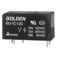 Buy cheap Custom Golden Flux Proofed Type DC Power Relay 12V / 24V GO 115F from wholesalers