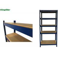 Buy cheap 5 LEVEL HEAVY DUTY BOLTLESS STORAGE SHELVING WITH CURVED EDGE UPRIGHT AND from wholesalers