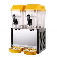 China Beverage Double Bowl Fruit Juice Dispenser With Different Flavors 18 Liter wholesale