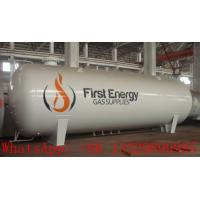 China factory price CLW brand bulk 50cbm LPG gas storage tank for sale, hot sale 20metric tons surface lpg gas storage tank wholesale
