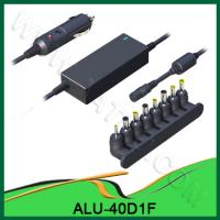 China 2012 Hot sell 40W Almighty laptop DC car Power Adapter ALU-40D1F wholesale