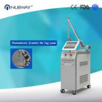 China top 10 supplier's Nd yag laser tattoo removal machine pigment removal skin spot removal