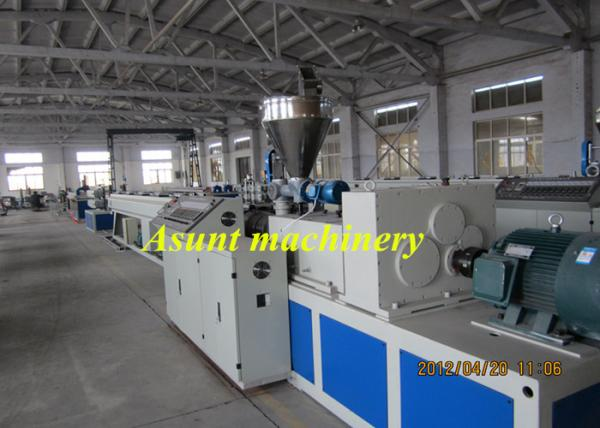 Quality PVC Double Screw Pipe Extrusion Machine Pvc Pipe Making Machine 80-150kw for sale